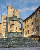 Cistern In San Gimignano Italy Royalty Free Stock Photos