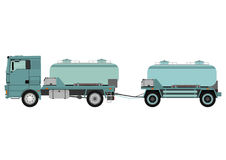 Cistern truck Royalty Free Stock Photo