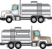 Cistern Truck Liquid Cargo Stock Photos
