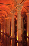 Cisterna da basílica, Istambul, Turquia Fotografia de Stock Royalty Free