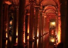 Cisterna de la basílica Foto de archivo libre de regalías