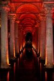 Cisterna de la basílica Fotografía de archivo libre de regalías