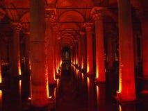 Cisterna de la basílica Fotos de archivo libres de regalías