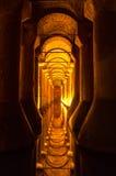 Cisterna de la basílica Imagen de archivo