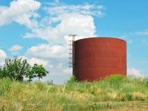 Cisterna del hierro Imágenes de archivo libres de regalías