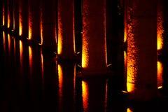 Cisterna della basilica, Costantinopoli, Turchia Fotografie Stock