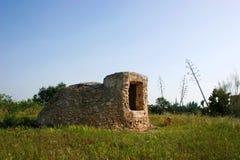 Cisterna en parque natural Fotos de archivo libres de regalías
