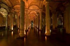 Cisterna Estambul de Yerebatan Imágenes de archivo libres de regalías