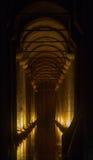 Cisterna sotto Costantinopoli Fotografia Stock