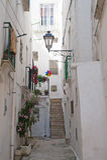 Cisternino (Apulia, Italië) - Oude stad royalty-vrije stock afbeeldingen