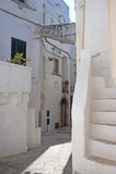 Cisternino (Apulia, Italien) - alte Stadt Stockbild
