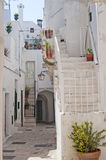 Cisternino (Apulia) - Old town. Cisternino (Brindisi, Puglia, Italy) - Old town royalty free stock photography