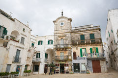 Cisternino, Puglia, Itália sul Fotografia de Stock Royalty Free