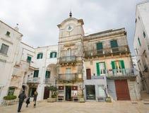 Cisternino, Puglia, Italie du sud Photographie stock libre de droits