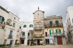 Cisternino Puglia, södra Italien Royaltyfri Fotografi