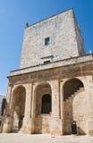 cisternino wielki Italy Puglia wierza Zdjęcia Stock