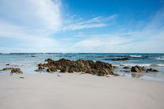 cisza na plaży Zdjęcie Stock