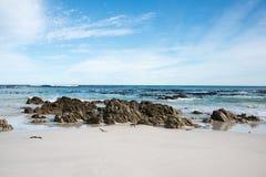cisza na plaży Zdjęcia Stock