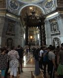 Cité du Vaticano fotografia stock libera da diritti
