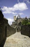 Cité de Carcasona Fotos de archivo