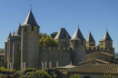 Cité de Carcassonne Zdjęcia Stock