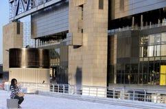 Cité des-vetenskaper och de l'industrie arkivfoto