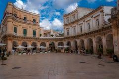 Cit Centre i Italien Puglia fotografering för bildbyråer