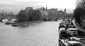 cit de ile Λα Παρίσι Στοκ Εικόνες