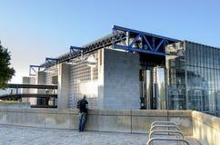 Cité des sciences et de l'industrie Stock Photo