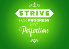Citações da motivação da aptidão Imagem de Stock Royalty Free