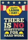 Citações felizes do Dia do Trabalhador ilustração royalty free