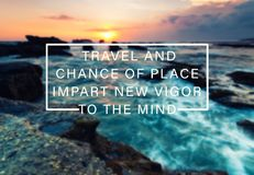 Citações inspiradas e inspiradores do curso Imagem de Stock Royalty Free