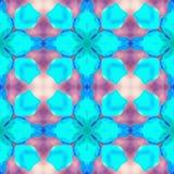 Cita de las hortensias del fractal del batik Foto de archivo