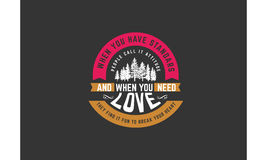 Cita del amor Imagen de archivo