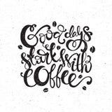 Cita del café libre illustration