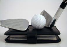 Cita del golf Fotografía de archivo