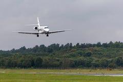 Citación D-CLEO soberano de Cessna 680 fotos de archivo