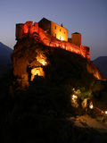 The Citadel. The castle of Corte at Corsika Stock Photography