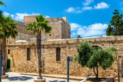Citadel of Acre, an Ottoman fortification in Israel Royalty Free Stock Images
