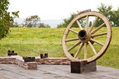 Citadel Alba Carolina - de plaats van offer Stock Afbeelding