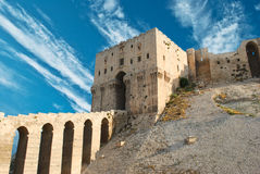 Citadel Aleppo Royalty Free Stock Images