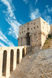 Citadel in Aleppo Stock Photography