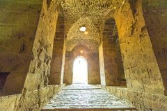 Citadel of Aleppo in Aleppo, Syria Royalty Free Stock Photography