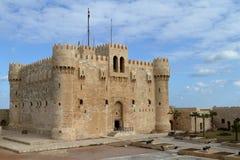Citadel of Alexandria in Egypt Royalty Free Stock Image