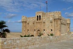 Citadel of Alexandria in Egypt Royalty Free Stock Photos