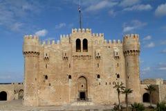 Citadel of Alexandria in Egypt Royalty Free Stock Photo