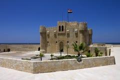 Citadel av Qaitbay arkivbild