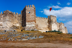Citadel of Ayasoluk in Selcuk Royalty Free Stock Images