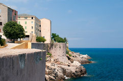 Citadel of the Bastia Stock Image