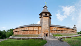 The citadel of baturyn Stock Image